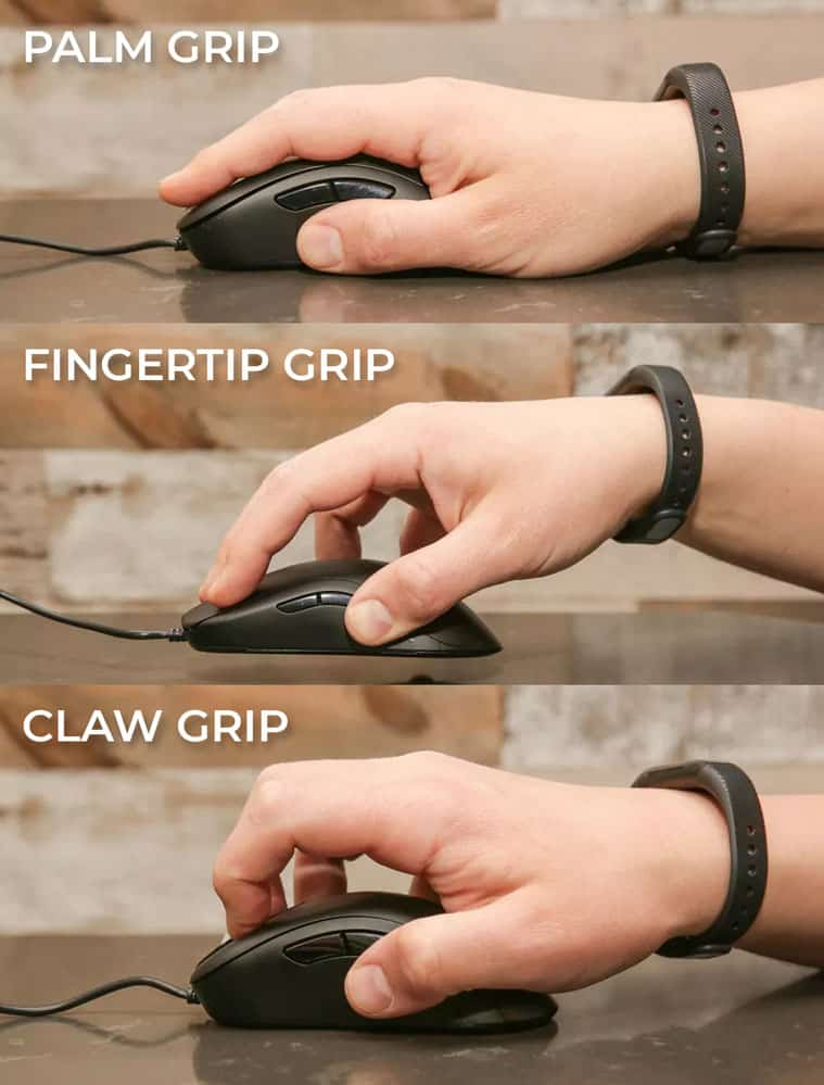Mouse Grip Styles