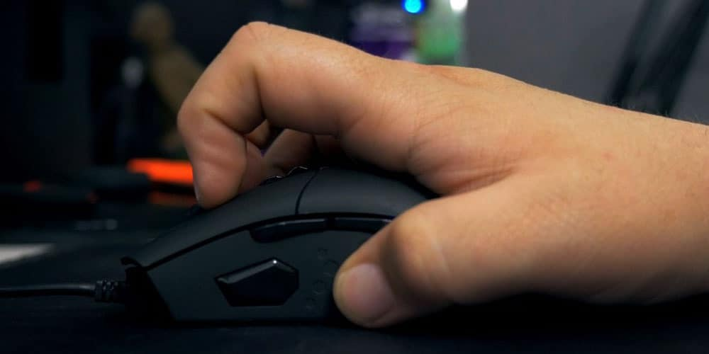 Claw Grip Gaming Mouse