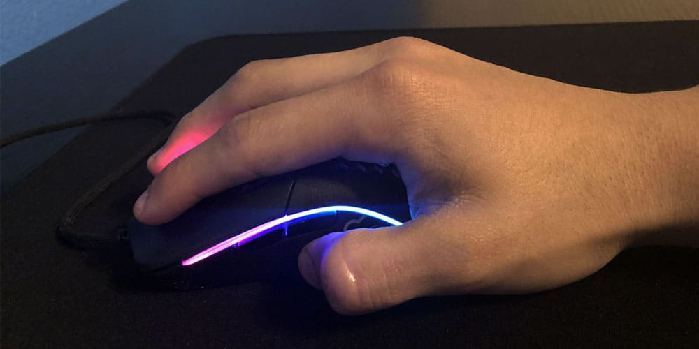 Palm Grip Gaming Mouse