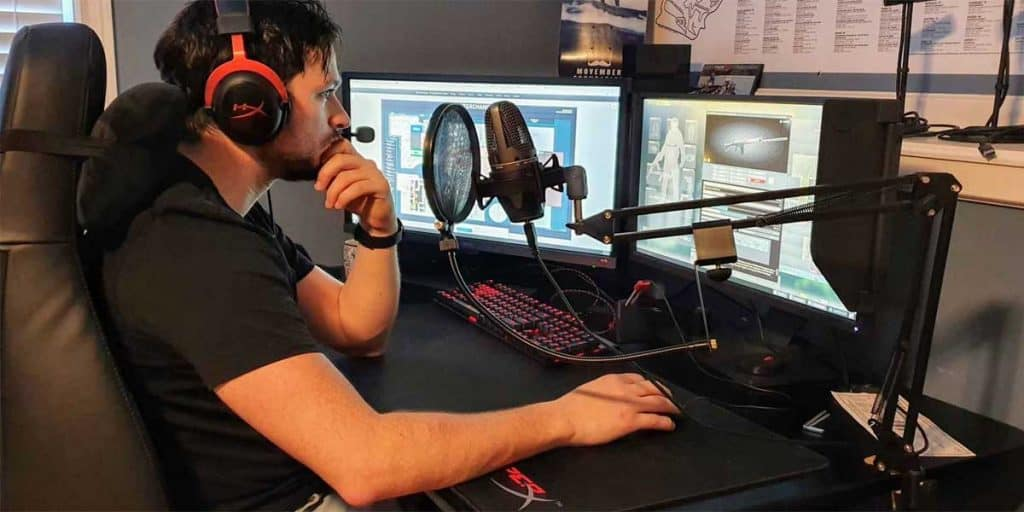 Upper Body Posture while gaming