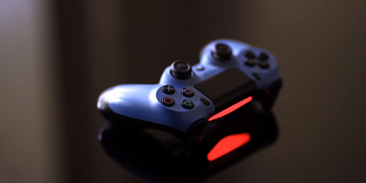 PS4 Controller Red Light